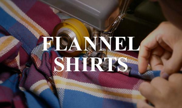 ウエアハウスカンパニー ネルシャツの生産背景
