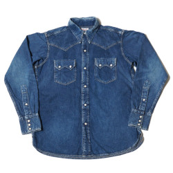 DENIM WESTERN SHIRTS(NO.3) UW