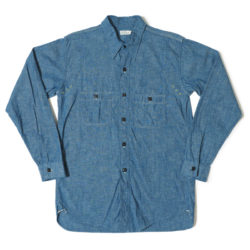 Lot 3019 WESTERN YORK CHAMBRAY SHIRTS(ONE WASH)