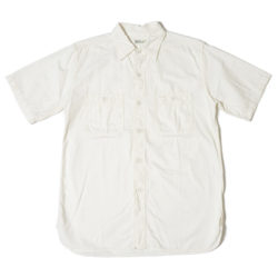 Lot 3080 TRIPLE STITCH S/S WORK SHIRTS シャンブレー オフ