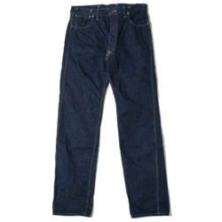 HC-1920B 1920's Triple-stitched Buttonfly Jeans O/W
