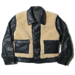 "HC-053 1930's Sheepskin & Horsehide ""Grizzly"" Sports Jacket"
