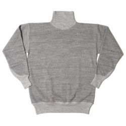 HC-M162-2 1930's Cotton High Neck Sweatshirts PLAIN