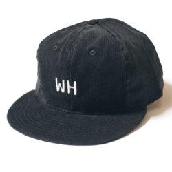 "CORDUROY SPORTS CAP ""WH"""