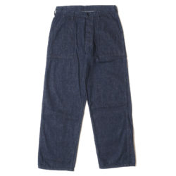 Lot 1202 U.S.NAVY DENIM UTILITY TROUSERS(ONE WASH) プリント