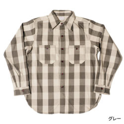Lot 3104 FLANNEL SHIRTS A柄 ONE WASH