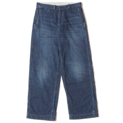 Lot 1209 USN DENIM TROUSERS(ZIPPER FLY) USED WASH(濃)