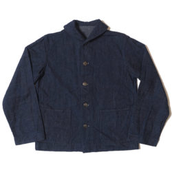 Lot 2142 USN DENIM DECK JACKET OR
