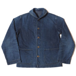 Lot 2142 USN DENIM DECK JACKET USED WASH(濃)