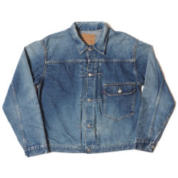 Lot 2ND-HAND 2001 DENIM JACKET USED WASH(淡)