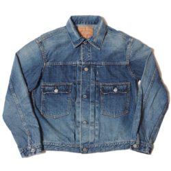 Lot 2ND-HAND 2002 DENIM JACKET USED WASH(淡)