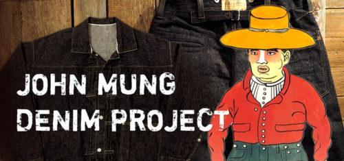 JOHN MUNG デニムプロジェクト2020