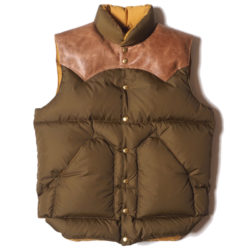 ROCKY MOUNTAIN × WAREHOUSE NYLON DOWN VEST