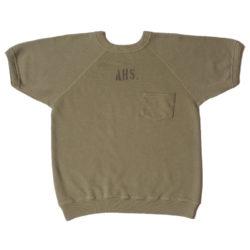 Lot 4085 半袖SW(ポケット付き) AHS.
