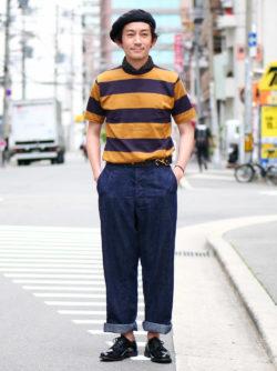 大人なTシャツスタイル