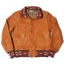 Lot 2151 A-1 STYLE LEATHER JACKET