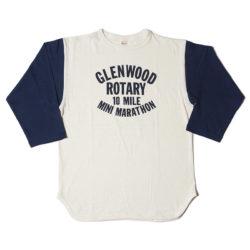 Lot 4800 7分袖ベースボールT GLENWOOD