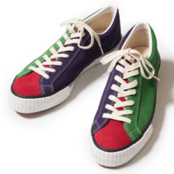 Lot 3400 SUEDE SNEAKER クレイジーパターン